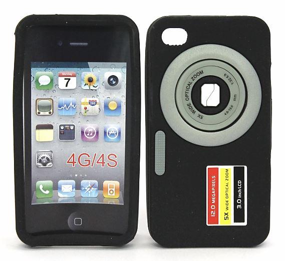 Skal iPhone 4/4S Kamera - Billigamobilskydd.se