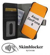 CoverInSkimblocker Magnet Fodral Asus ZenFone 8 (ZS590KS)