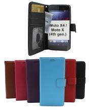 billigamobilskydd.seNew Standcase Wallet Motorola Moto X4 / Moto X (4th gen)