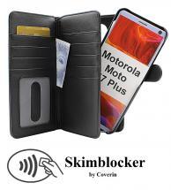 CoverInSkimblocker XL Magnet Fodral Motorola Moto E7 Plus (XT2081-2)
