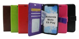 billigamobilskydd.seCrazy Horse Wallet Motorola Moto E6 Play