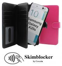 CoverInSkimblocker XL Magnet Fodral Samsung Galaxy A20s (A207F/DS)