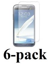 billigamobilskydd.seSamsung Galaxy Note 2 skärmskydd 6-pack