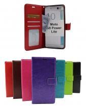 billigamobilskydd.seCrazy Horse Wallet Motorola Moto G8 Power Lite