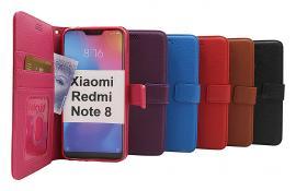 billigamobilskydd.seNew Standcase Wallet Xiaomi Redmi Note 8