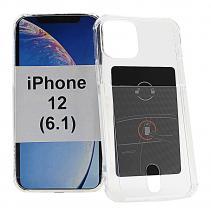 billigamobilskydd.seTPU Skal med kortficka iPhone 12 (6.1)