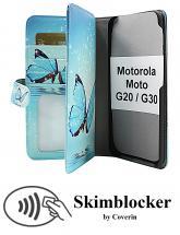 CoverInSkimblocker XL Designwallet Motorola Moto G20 / Moto G30