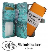CoverInSkimblocker XL Magnet Designwallet Samsung Galaxy A22 5G (SM-A226B)