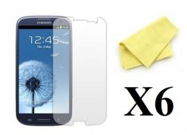 billigamobilskydd.seSamsung Galaxy S3 skärmskydd 6-pack