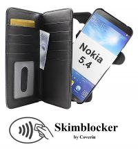 CoverInSkimblocker XL Magnet Fodral Nokia 5.4