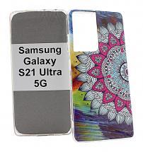 billigamobilskydd.seDesignskal TPU Samsung Galaxy S21 Ultra 5G (G998B)