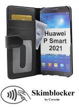 CoverInSkimblocker Plånboksfodral Huawei P Smart 2021