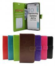 billigamobilskydd.seCrazy Horse Wallet Samsung Galaxy A21s (A217F/DS)