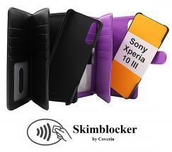 CoverInSkimblocker XL Magnet Fodral Sony Xperia 10 III (XQ-BT52)