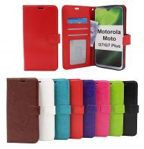 billigamobilskydd.seCrazy Horse Wallet Motorola Moto G7 / Moto G7 Plus