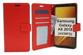 billigamobilskydd.seCrazy Horse Wallet Samsung Galaxy A8 2018 (A530FD)