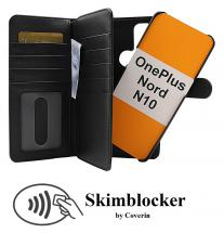 CoverInSkimblocker XL Magnet Fodral OnePlus Nord N10