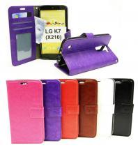 billigamobilskydd.seCrazy Horse Wallet LG K7 (X210)