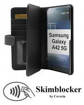 CoverInSkimblocker XL Wallet Samsung Galaxy A42 5G