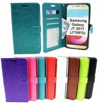 billigamobilskydd.seCrazy Horse Wallet Samsung Galaxy J7 2017 (J730FD)