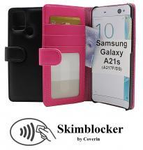 CoverInSkimblocker Plånboksfodral Samsung Galaxy A21s (A217F/DS)