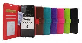 billigamobilskydd.seCrazy Horse Wallet Sony Xperia 5