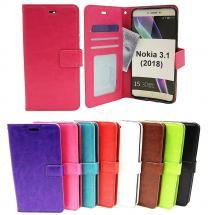 billigamobilskydd.seCrazy Horse Wallet Nokia 3.1 (2018)