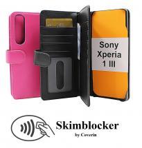 CoverInSkimblocker XL Wallet Sony Xperia 1 III (XQ-BC52)