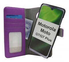 CoverInSkimblocker Magnet Fodral Motorola Moto G7 / Moto G7 Plus