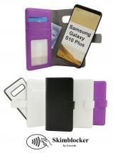 billigamobilskydd.seSkimblocker Magnet Wallet Samsung Galaxy S10+ (G975F)
