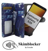 CoverInSkimblocker XL Magnet Designwallet Samsung Galaxy S20 (G980F)