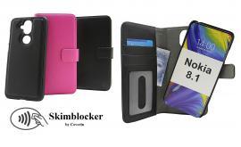 billigamobilskydd.seSkimblocker Magnet Wallet Nokia 8.1