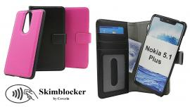 CoverInSkimblocker Magnet Fodral Nokia 5.1 Plus
