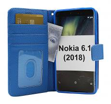 billigamobilskydd.seNew Standcase Wallet Nokia 6 (2018) / Nokia 6.1 (2018)