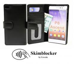 billigamobilskydd.seSkimblocker Plånboksfodral Huawei P8 (GRA-L09)