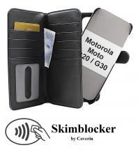 CoverInSkimblocker XL Magnet Fodral Motorola Moto G20 / Moto G30