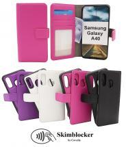 billigamobilskydd.seSkimblocker Magnet Wallet Samsung Galaxy A40 (A405FN/DS)