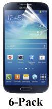 billigamobilskydd.seSamsung Galaxy S4 skärmskydd (i9500,i9505,i9506) 6-Pack
