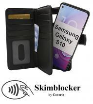 CoverInSkimblocker XL Magnet Fodral Samsung Galaxy S10 (G973F)