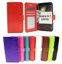 billigamobilskydd.seCrazy Horse Wallet Nokia 6 (2018)