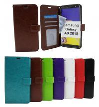 billigamobilskydd.seCrazy Horse Wallet Samsung Galaxy A9 2018 (A920F/DS)