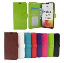 billigamobilskydd.seCrazy Horse Wallet Nokia 3.1 Plus
