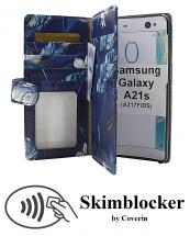 CoverInSkimblocker XL Designwallet Samsung Galaxy A21s (A217F/DS)