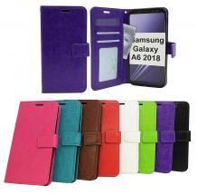 billigamobilskydd.seCrazy Horse Wallet Samsung Galaxy A6 2018 (A600FN/DS)