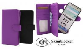 billigamobilskydd.seSkimblocker XL Magnet Wallet Huawei P20 Lite