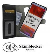 CoverInSkimblocker Magnet Fodral Motorola Moto E7 Plus (XT2081-2)