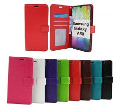 billigamobilskydd.seCrazy Horse Wallet Samsung Galaxy A50 (A505FN/DS)