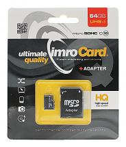 billigamobilskydd.seImro Micro SD Minneskort 64 GB