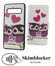 CoverInSkimblocker Magnet Designwallet Samsung Galaxy S10 (G973F)