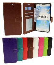 billigamobilskydd.seCrazy Horse Wallet Nokia 5